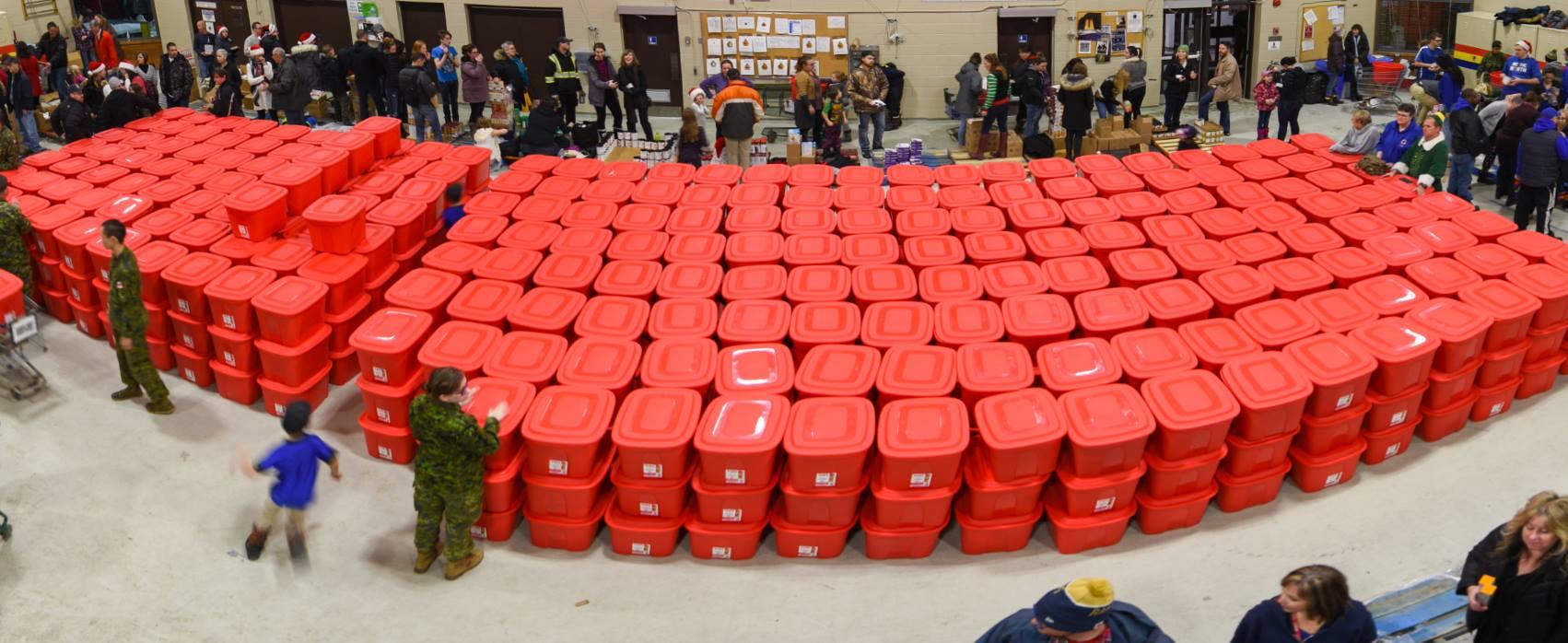 Santa Fund North Bay - Basket Packing Night Volunteers